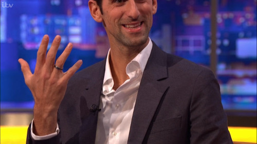 Novak S Moment Of Tv Panic Where Is Your Wedding Ring Britic